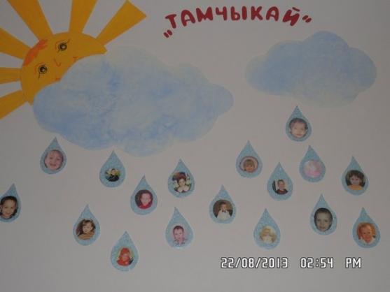 Украшение стен группы в детском саду  Оформление группы и