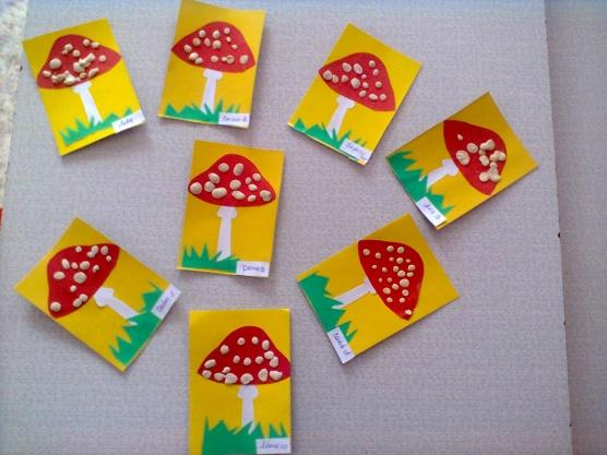 Поделки на тему ягоды и грибы 37