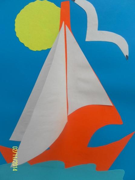 Кораблик из бумаги шаблоны