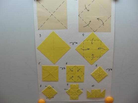 Коп оригами в подготовительной группе