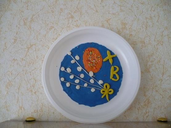 Поделки к пасхе из тарелок 93