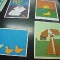 Образцы оформления детских работ (оригами)