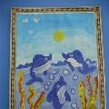 Работы детей по технологическим картам И. А. Лыковой