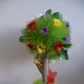 Моё первое деревце-топиарий
