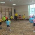 Фитбол-аэробика в детском саду