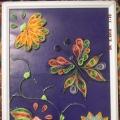 «Бабочка на цветочке». Квиллинг