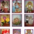 Фотоотчёт по работе над проектом «Тряпичная кукла в развитии творчества детей»