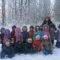 Зимняя прогулка в лес