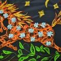 Квиллинговая композиция «Огненная лошадь» и «Цветочная нежность».
