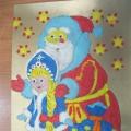 «Пластилинография. Дед Мороз и Снегурочка». Фотоотчёт о выставке работ