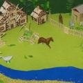 Макет «Русская деревенька», или дидактическая игра «Кто, кто в деревеньке живёт?»