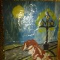 «Уголок памяти писателяА. П. Чехова» (Оформление уголка рисование пластилином)