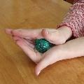 Упражнения с массажными мячиками
