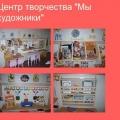 Наши центры в группе детского сада
