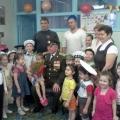 Настоящий полковник в гостях у ребят. Встреча детей с ветераном.