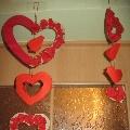 Подвеска «Сердечки»