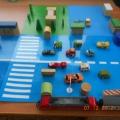 Дидактические игры по ПДД «Мой микрорайон», «Перекрёсток»