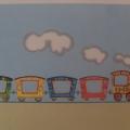 Игра для детей раннего возраста «Поезд».