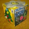 «Сенсорный куб» для развития сенсорного восприятия и мелкой моторики детей раннего и младшего дошкольного возраста