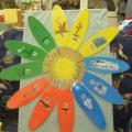 Цветок— годовик. Дидактическая игра для детей 5–7 лет.