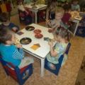 Фотоотчет об интегрированном занятии в средней группе «Мой дом— моя радость»