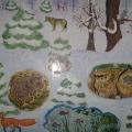 Динамическое пособие «Кто, как зимует в лесу?»
