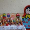 Выставка работ родителей к открытому занятию по теме «Матрешка— символ земли русской»