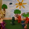 Участие во всероссийском пластилиновом конкурсе «Ребятам о зверятах»