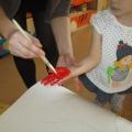 Конспект образовательной деятельности по нетрадиционному рисованию для детей младшей группы «Озорные лучики»
