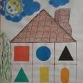 Набор пособий, которые можно использовать для закрепления умения детей ориентироваться в пространстве.