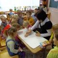 Вторая младшая группа. Юбилей детского сада.