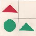 Дидактическая игра «Найди четвертую картинку»
