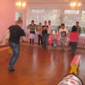 Спортивный семейный праздник в средней группе детского сада