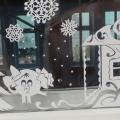 Новогоднее чудо: «Украшение окон, снежные постройки»