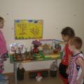 Осенняя выставка детских работ из природного материала в подготовительной к школе группе №10 «Цветочки»