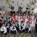 Фотозарисовка выпускного бала в детском саду, 2012 год.