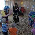 Комплексное занятие: «В гости к бабушке за пасхальным яичком», в первой младшей группе