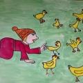 «Русские народные пословицы и поговорки в детских рисунках»