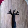 «Осеннее дерево». Торцевание на пластилине