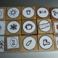Авторское дидактическое пособие «Бросай-ка» для развития логического мышления у детей с использованием знаков-символов