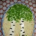 Салат «Берёзовая роща»