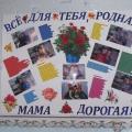 Фотоотчет «Мы празднуем день матери»
