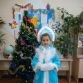 Наташа— победитель конкурса Снегурочек!