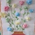 Расцвели из салфеток цветы необычной красоты