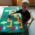 Многофункциональное дидактическое пособие— игровой коврик «Дорожка»