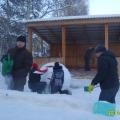 Творческий практико-ориентированный проект «Снежный Колобок»