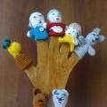 Вязаные игрушки на пальчик