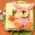 Еще бутерброды «Львенок» и «Зайка»