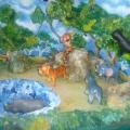 Макет-игра «Дикие животные».