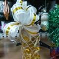 Новогодние игрушки из бросового материала